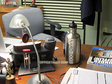 The Office: Nard Dog Sabre water bottle