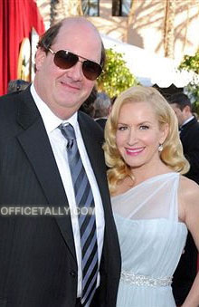 The Office: Brian Baumgartner and Angela Kinsey