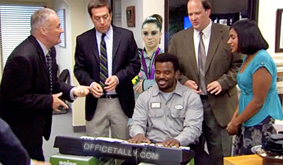 Mckayla Maroney not impressed with The Office