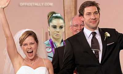 McKayla Maroney is not impressed by The Office