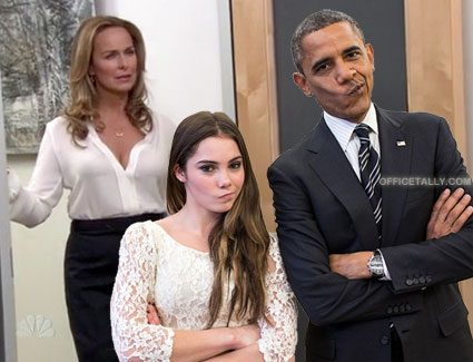 McKayla Maroney and President Obama are not impressed