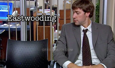 The Office's Jim Halpert did it first. #Eastwooding
