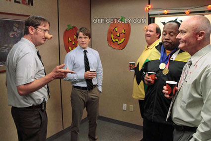 The Office Here Comes Treble Halloween