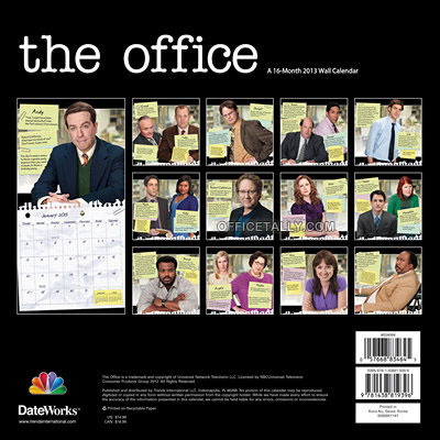 The Office 2013 Calendar