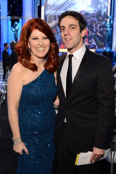 SAG Awards: Kate Flannery and B.J. Novak