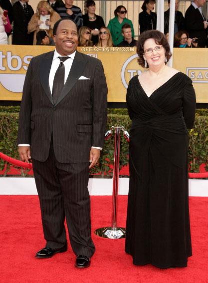 SAG Awards: Leslie David Baker and Phyllis Smith