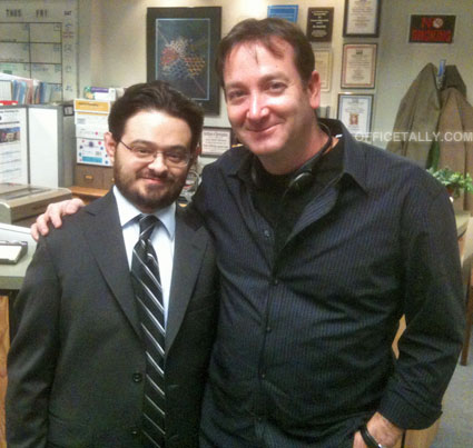 "The Office: Junior Salesman, David Rogers, director, with Noel ""Troy L. Underbridge"" Petok"