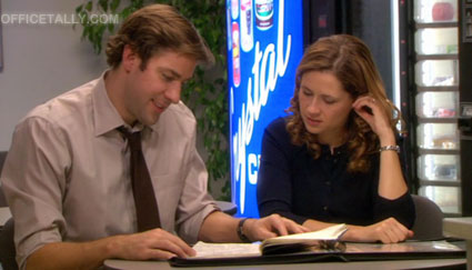 The Office: Pam's sketch