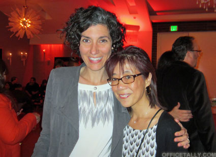 The Office Series Finale Wrap Party: Allison Silverman tanster