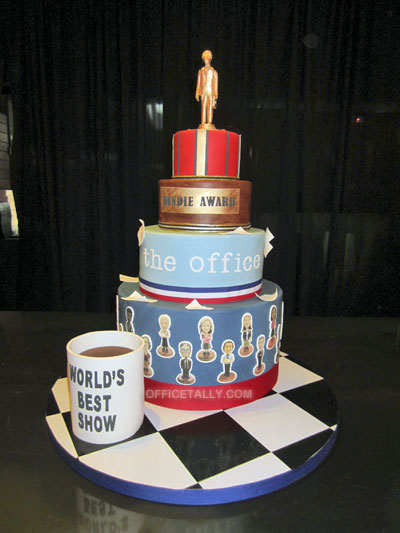The Office Series Finale Wrap Party: Cake
