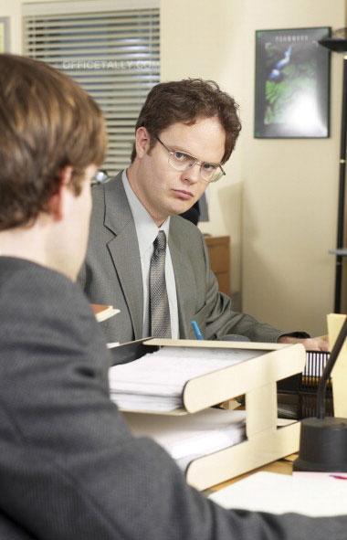 The Office: Pilot John Krasinski Rainn Wilson