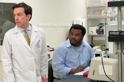 The Office: Paper Airplane Ed Helms Craig Robinson