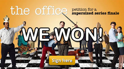 The Office Petition: WE WON!