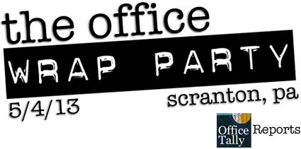 The Office Wrap Party OfficeTally Reports