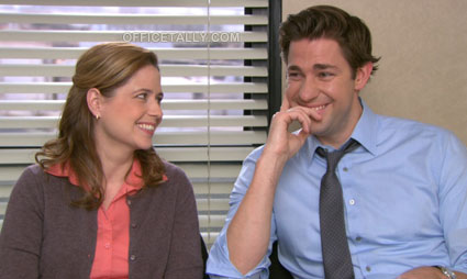 The Office Season 9 DVD Bluray: Jenna Fischer and John Krasinski