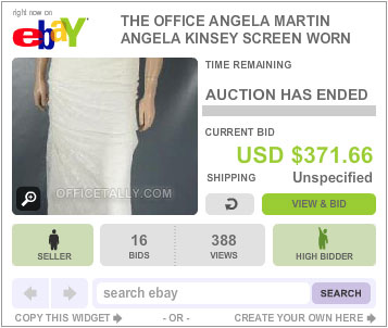 The Office Auction Angela Wedding Dress