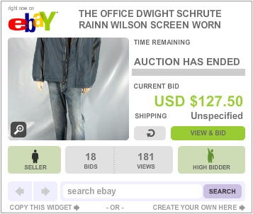 The Office Auction Dwight Schrute Jacket