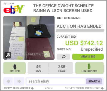 The Office Auction Dwight Statement of Regret
