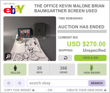The Office Auction Kevin Drawing