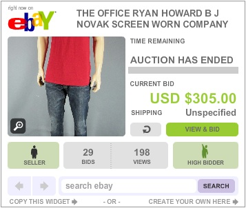 The Office Auction Ryan Scranton Shirt