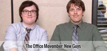 The Office Movember: New Guys