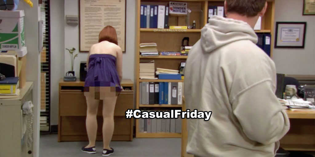 the office quotes casual friday