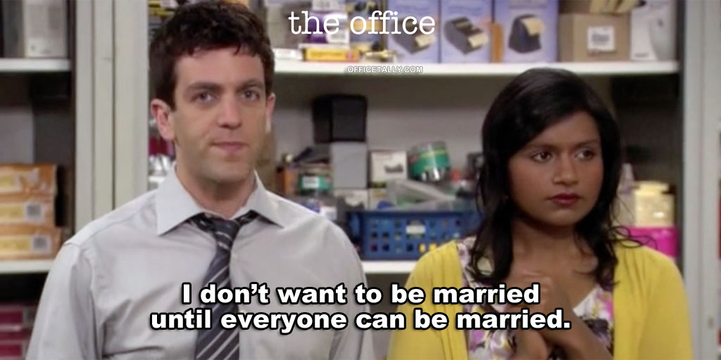 Ryan and Kelly can get married!