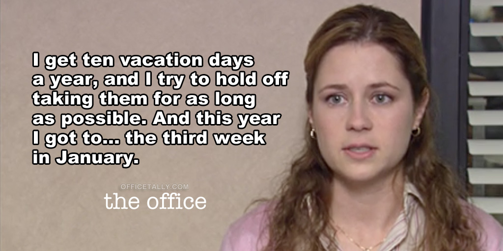 the-ofice-holding-off-taking-vacation