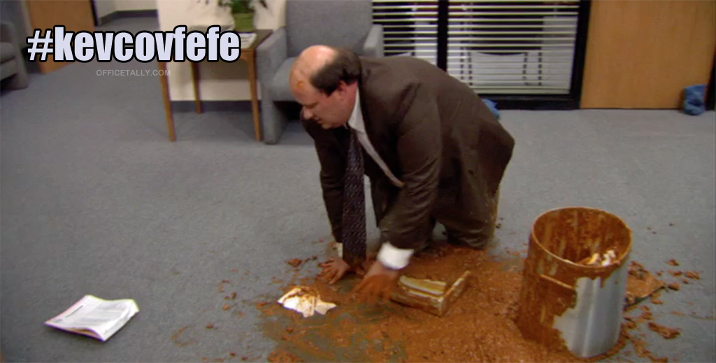 the office covfefe